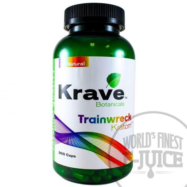 Krave Kratom Trainwreck 300 capsules
