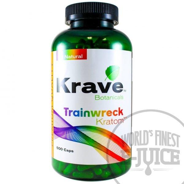 Krave Kratom Trainwreck 500 Capsules